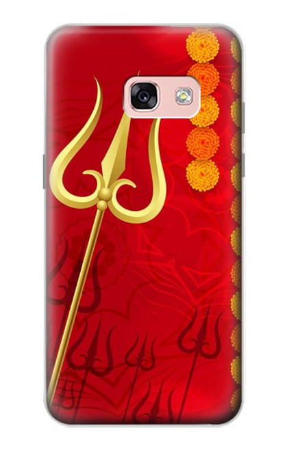 S3788 Shiv Trishul Case For Samsung Galaxy A3 (2017)