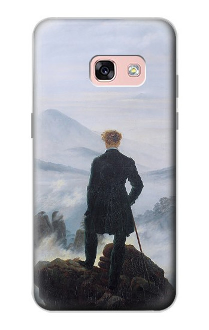 S3789 Wanderer above the Sea of Fog Case For Samsung Galaxy A3 (2017)