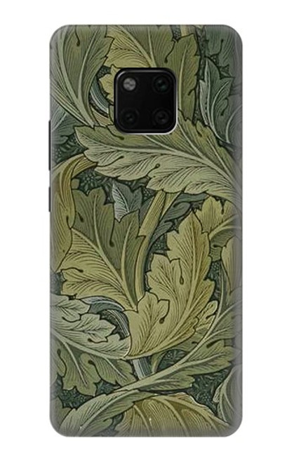 S3790 William Morris Acanthus Leaves Case For Huawei Mate 20 Pro