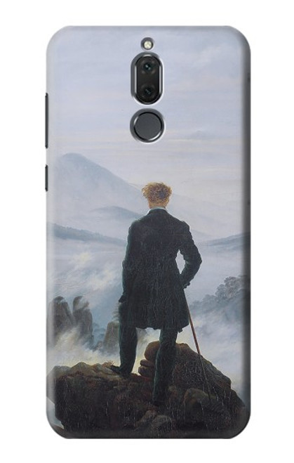 S3789 Wanderer above the Sea of Fog Case For Huawei Mate 10 Lite