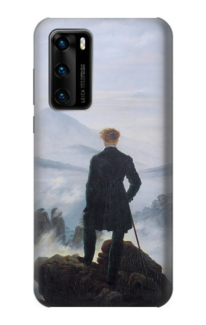 S3789 Wanderer above the Sea of Fog Case For Huawei P40