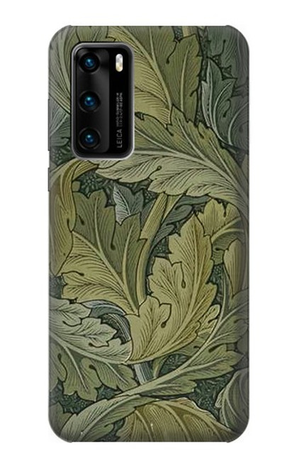 S3790 William Morris Acanthus Leaves Case For Huawei P40