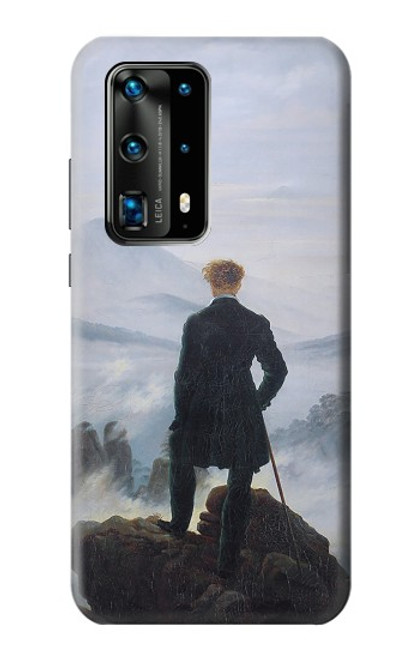 S3789 Wanderer above the Sea of Fog Case For Huawei P40 Pro Plus
