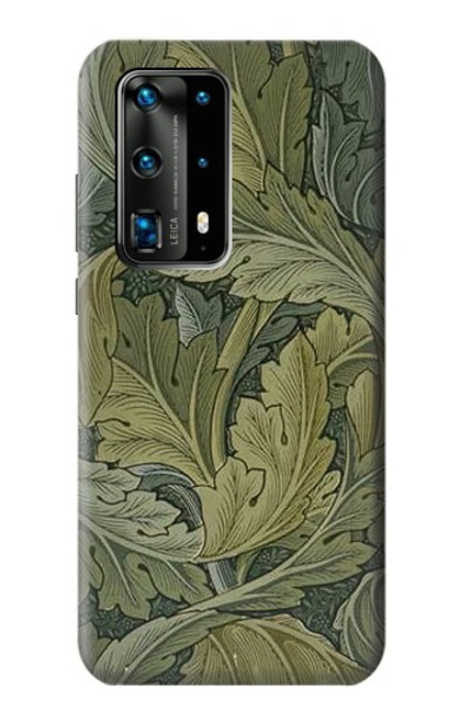 S3790 William Morris Acanthus Leaves Case For Huawei P40 Pro Plus