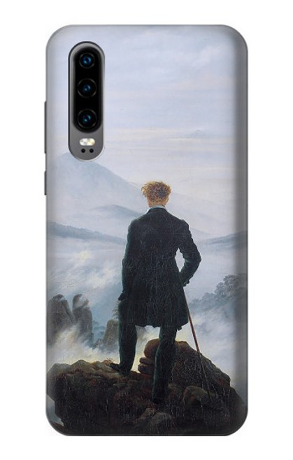 S3789 Wanderer above the Sea of Fog Case For Huawei P30