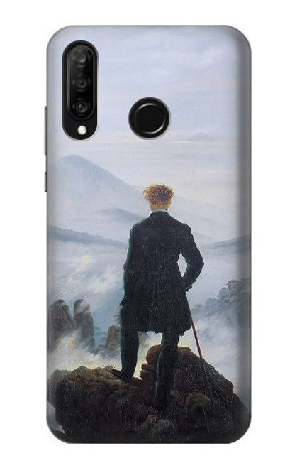S3789 Wanderer above the Sea of Fog Case For Huawei P30 lite