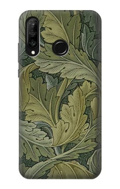 S3790 William Morris Acanthus Leaves Case For Huawei P30 lite
