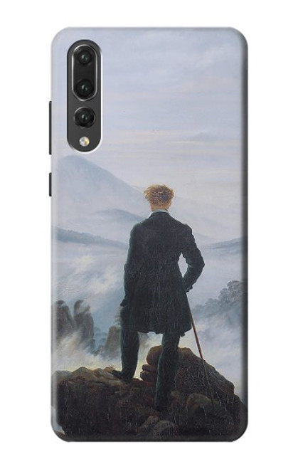 S3789 Wanderer above the Sea of Fog Case For Huawei P20 Pro