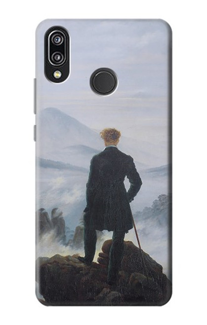 S3789 Wanderer above the Sea of Fog Case For Huawei P20 Lite