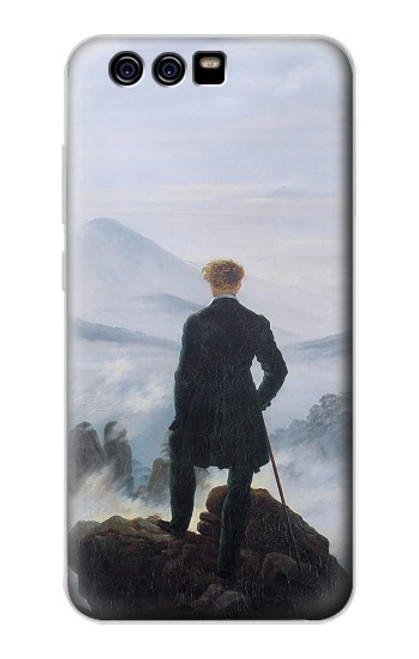 S3789 Wanderer above the Sea of Fog Case For Huawei P10