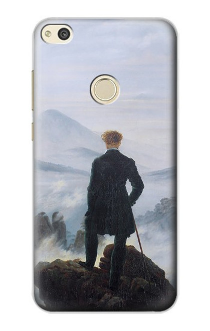 S3789 Wanderer above the Sea of Fog Case For Huawei P8 Lite (2017)