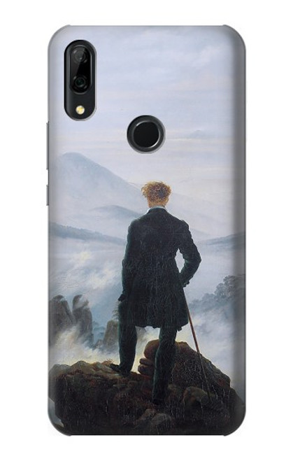 S3789 Wanderer above the Sea of Fog Case For Huawei P Smart Z, Y9 Prime 2019