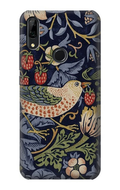S3791 William Morris Strawberry Thief Fabric Case For Huawei P Smart Z, Y9 Prime 2019