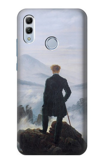 S3789 Wanderer above the Sea of Fog Case For Huawei Honor 10 Lite, Huawei P Smart 2019