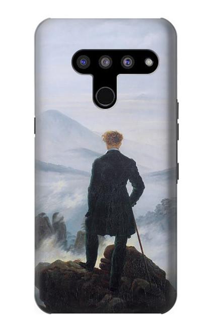 S3789 Wanderer above the Sea of Fog Case For LG V50, LG V50 ThinQ 5G