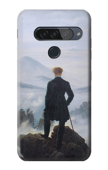 S3789 Wanderer above the Sea of Fog Case For LG G8S ThinQ