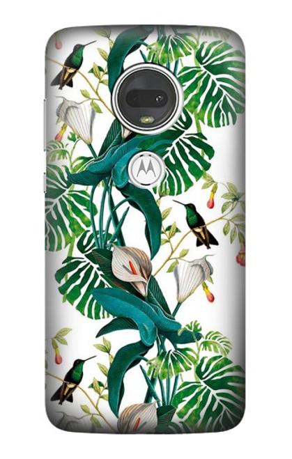 S3697 Leaf Life Birds Case For Motorola Moto G7, Moto G7 Plus