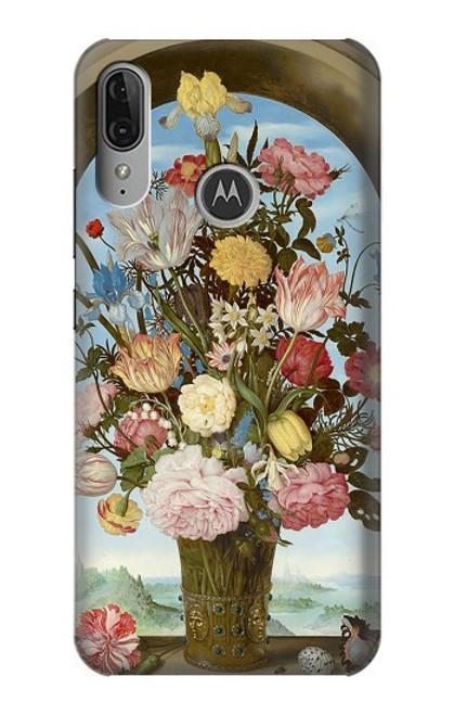 S3749 Vase of Flowers Case For Motorola Moto E6 Plus, Moto E6s