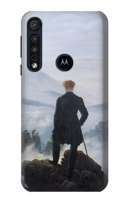 S3789 Wanderer above the Sea of Fog Case For Motorola One Macro, Moto G8 Play