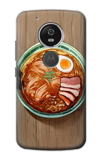 S3756 Ramen Noodles Case For Motorola Moto G6 Play, Moto G6 Forge, Moto E5
