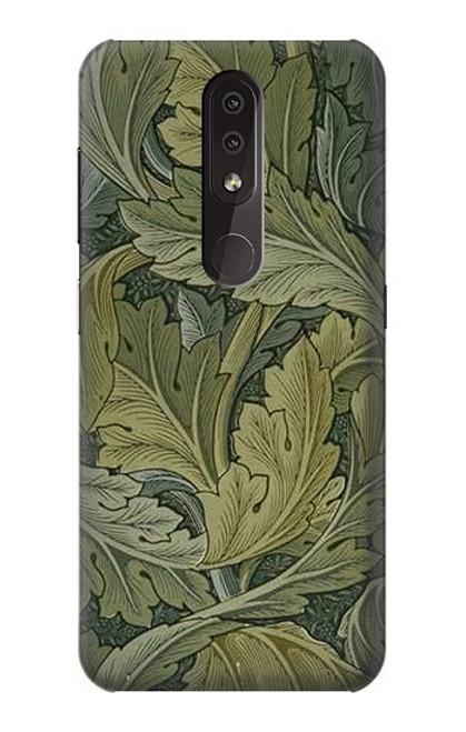 S3790 William Morris Acanthus Leaves Case For Nokia 4.2