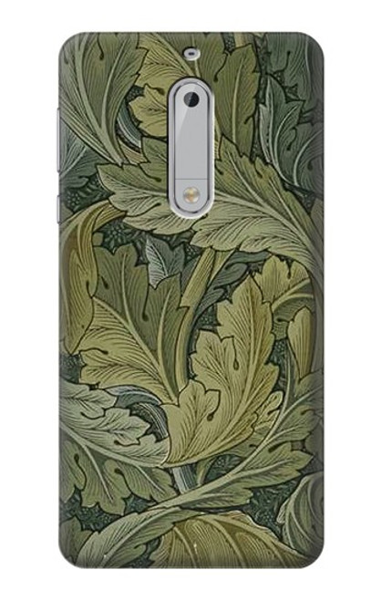 S3790 William Morris Acanthus Leaves Case For Nokia 5