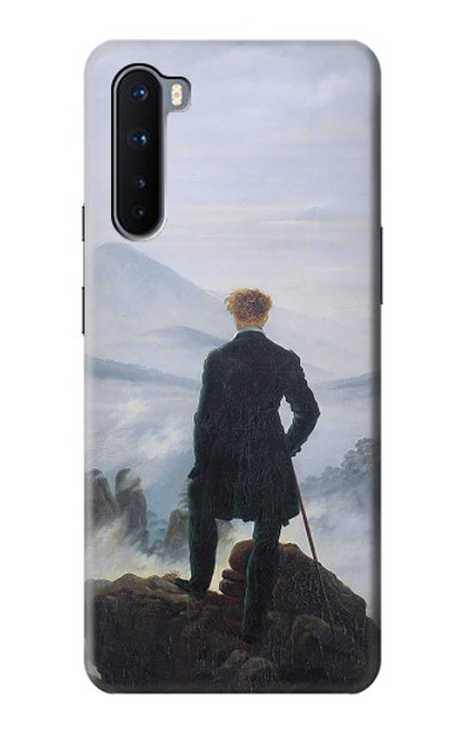 S3789 Wanderer above the Sea of Fog Case For OnePlus Nord