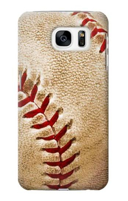 S0064 Baseball Case For Samsung Galaxy S7