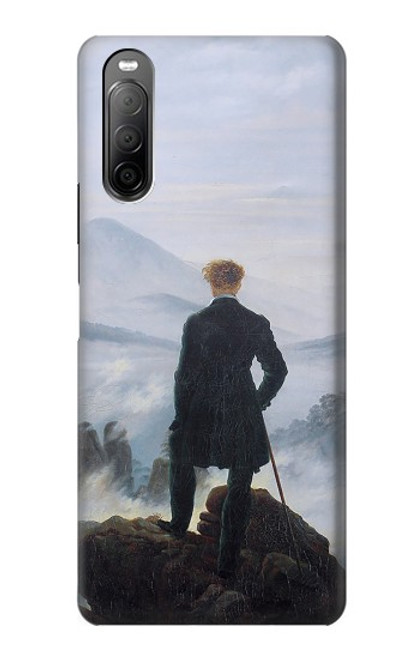 S3789 Wanderer above the Sea of Fog Case For Sony Xperia 10 II
