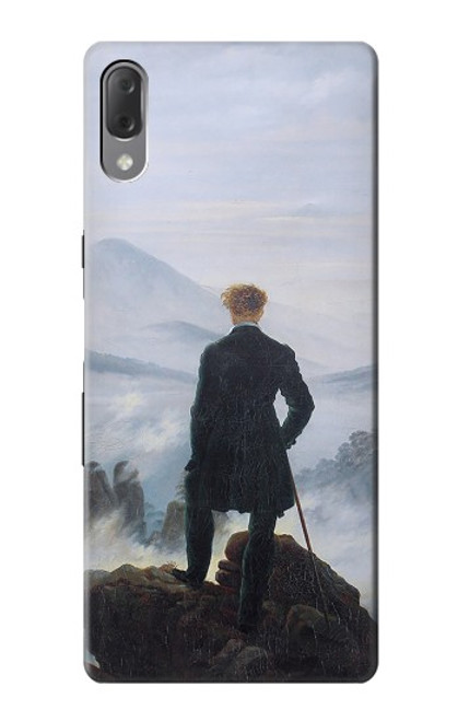 S3789 Wanderer above the Sea of Fog Case For Sony Xperia L3