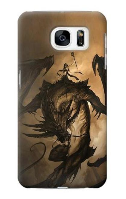 S0388 Dragon Rider Case For Samsung Galaxy S7