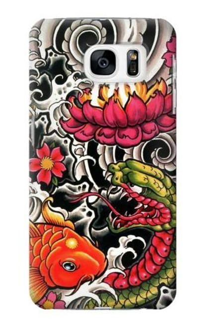 S0605 Yakuza Tattoo Case For Samsung Galaxy S7