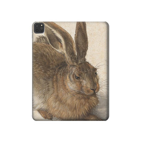 S3781 Albrecht Durer Young Hare Hard Case For iPad Pro 12.9 (2018,2019,2020)