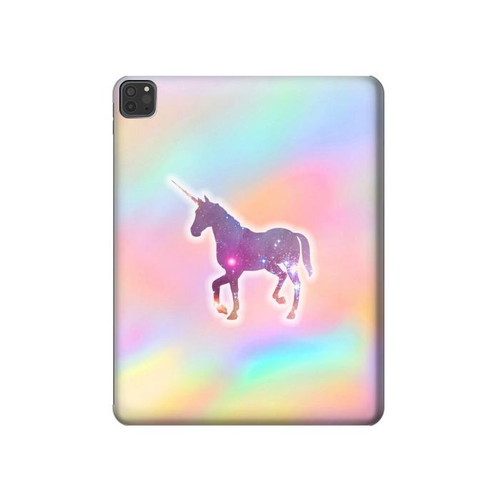 S3203 Rainbow Unicorn Hard Case For iPad Pro 11 (2018,2020), iPad Air 4 (2020), iPad Air (2020)