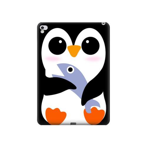 S2631 Cute Baby Penguin Hard Case For iPad Pro 12.9 (2015,2017)