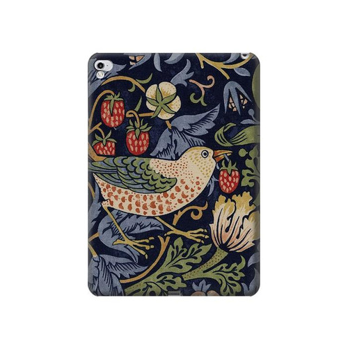 S3791 William Morris Strawberry Thief Fabric Hard Case For iPad Pro 12.9 (2015,2017)