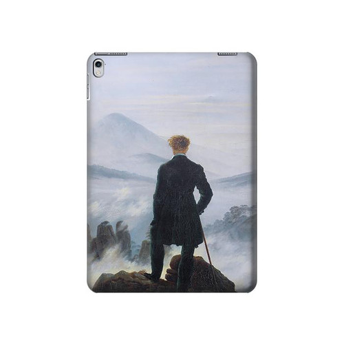 S3789 Wanderer above the Sea of Fog Hard Case For iPad Air 2, iPad 9.7 (2017,2018), iPad 6, iPad 5