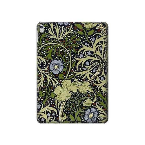 S3792 William Morris Hard Case For iPad Air 2, iPad 9.7 (2017,2018), iPad 6, iPad 5