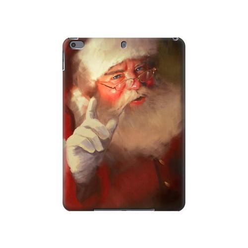 S1144 Xmas Santa Claus Hard Case For iPad Air 3, iPad Pro 10.5, iPad 10.2 (2019,2020,2021)