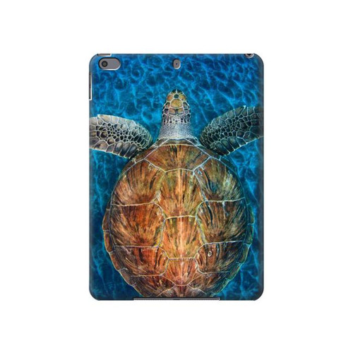 S1249 Blue Sea Turtle Hard Case For iPad Air 3, iPad Pro 10.5, iPad 10.2 (2019,2020)