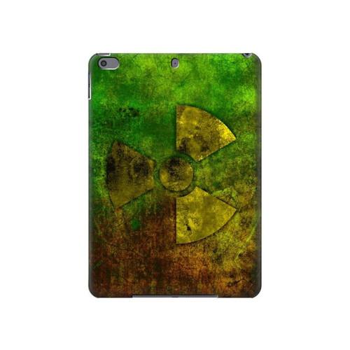 S3202 Radioactive Nuclear Hazard Symbol Hard Case For iPad Air 3, iPad Pro 10.5, iPad 10.2 (2019,2020)