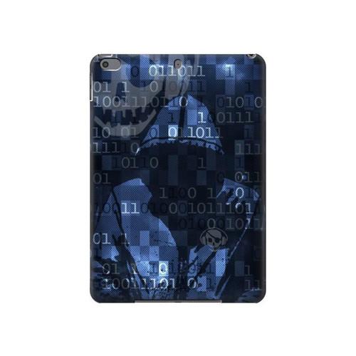 S3431 Digital Code Cyber Hacker Hard Case For iPad Air 3, iPad Pro 10.5, iPad 10.2 (2019,2020)