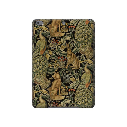 S3661 William Morris Forest Velvet Hard Case For iPad Air 3, iPad Pro 10.5, iPad 10.2 (2019,2020)