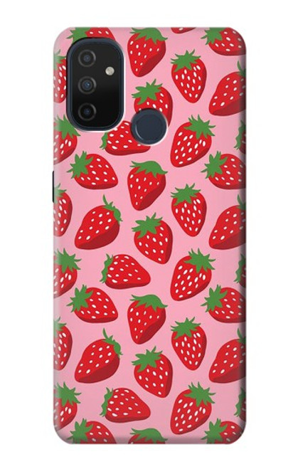S3719 Strawberry Pattern Case For OnePlus Nord N100
