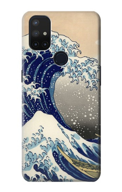 S2389 Hokusai The Great Wave off Kanagawa Case For OnePlus Nord N10 5G