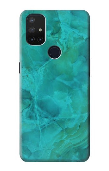 S3147 Aqua Marble Stone Case For OnePlus Nord N10 5G