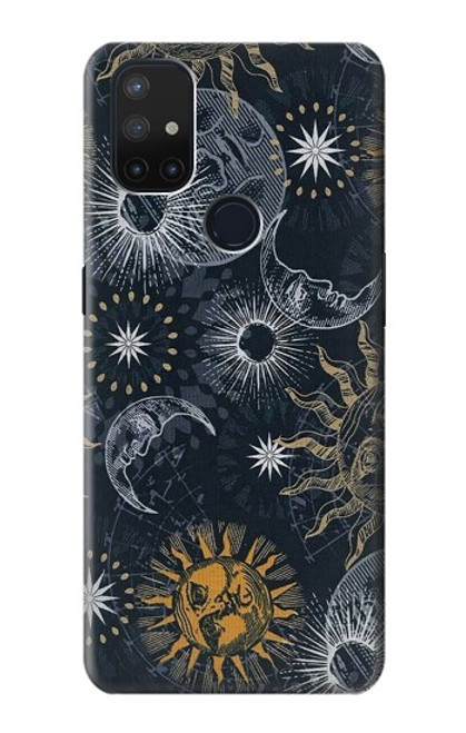 S3702 Moon and Sun Case For OnePlus Nord N10 5G