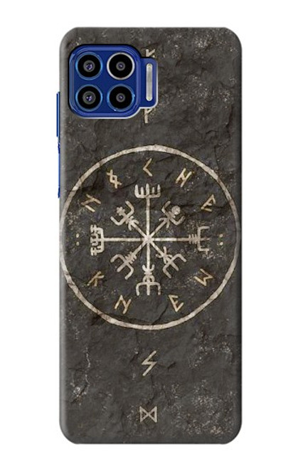 S3413 Norse Ancient Viking Symbol Case For Motorola One 5G