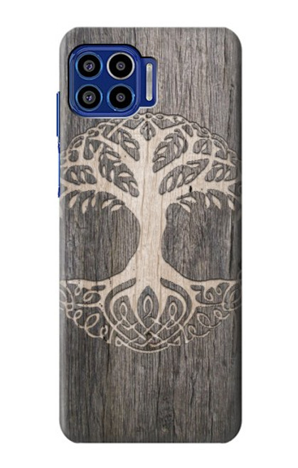 S3591 Viking Tree of Life Symbol Case For Motorola One 5G