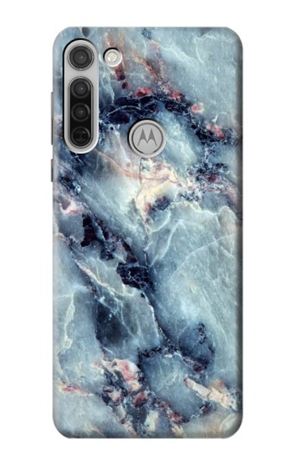 S2689 Blue Marble Texture Graphic Printed Case For Motorola Moto G8